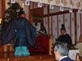 春季例祭(朝日舞奉納)