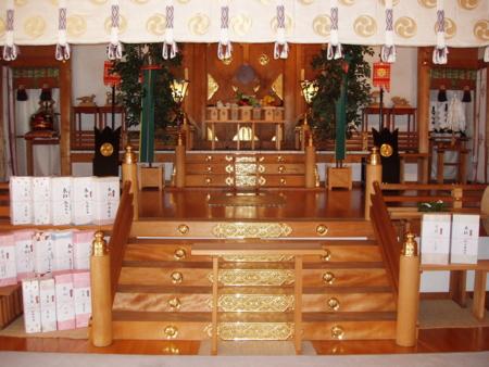 西野神社 幣殿