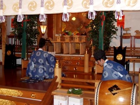 参集殿増築工事 安全祈願祭