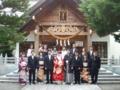 結婚式(拝殿前)