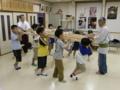 子供神輿練習(平成21年)