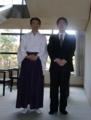 亀田八幡宮社務所内で撮影