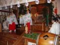 平成23年歳旦祭 豊栄舞奉納