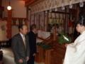 平成23年歳旦祭 参列者玉串拝礼