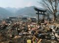 被災地の神社