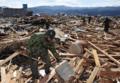 被災地での自衛隊の支援活動