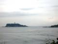 稲村ヶ崎から望む江の島