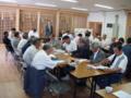 秋祭りに向けての地域代表者との合同会議