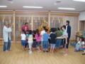 子供神輿練習(平成23年)