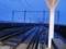 新青森駅ホームから望む北海道新幹線