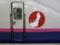 東北新幹線の車体に貼られた復興ロゴ