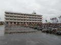 大震災から9カ月後の仙台 荒浜地区(荒浜小学校の校舎)