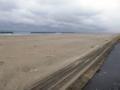 大震災から9カ月後の仙台 荒浜地区(荒浜の砂浜)