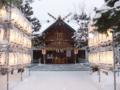 平成23年 年末(社殿の風景)