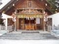 平成24年元日 (拝殿)