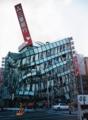 阪神淡路大震災(鉄筋が折れて崩落したビル)