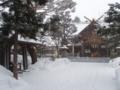平成24年1月 西野神社境内の風景