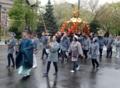 三吉神社 神輿渡御(大通公園前)