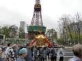 三吉神社 神輿渡御(テレビ塔前)