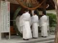 平成24年 夏越大祓式(斎主以下祭員玉串拝礼)