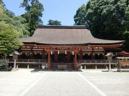 第58回神道行法錬成研修会(拝殿)