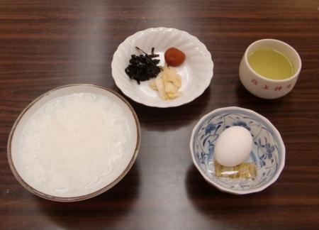 第58回神道行法錬成研修会(研修中の食事)