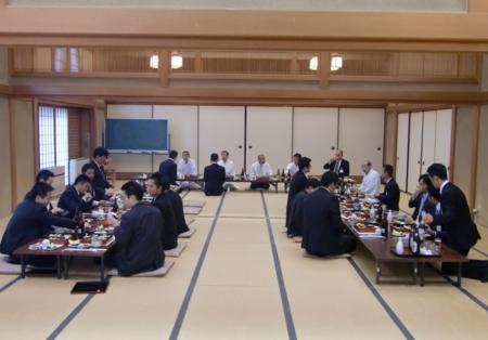 第58回神道行法錬成研修会(閉講式の後の直会)