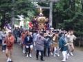 留萌神社 神輿渡御(宮入り)