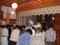 敬神婦人会創立十周年奉告祭