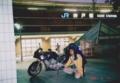 日本本土縦断ツーリング(神戸駅)