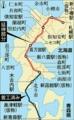北海道新幹線路線図(新青森~札幌)