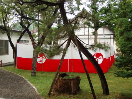 西野神社臨時禊場(平成24年)