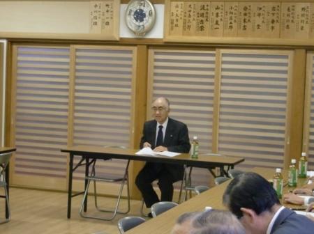 平成24年11月 総代会