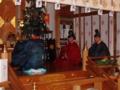 平成24年 新嘗祭(朝日舞奉納)