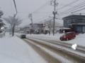 神社前の風景 (H24年12月13日)