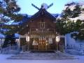 年末の社殿