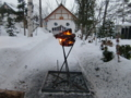平成25年正月 参道の篝火