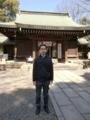 川越氷川神社 拝殿前