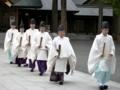 平成22年 札幌支部神社関係者大会 正式参拝 斎主以下祭員