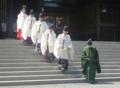 平成23年 札幌支部神社関係者大会 正式参拝 斎主以下祭員