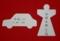 大祓の人形(ひとがた)と車の形代