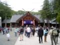 北海道神宮拝殿(札幌まつり)