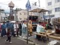 平成25年8月 小樽地守稲荷神社神輿渡御