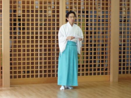 平成25年9月 禊祓行事(最後の挨拶)