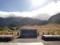 室堂平からの望む立山連峰 雄山