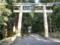 雄山神社前立社壇 鳥居