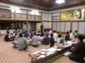 文月会10月例会 懇親会(北海道神宮参集殿)
