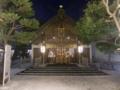 平成25年 年末の西野神社(拝殿正面)