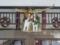 平成25年 年末の西野神社(社務所玄関)