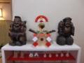 平成25年 年末の西野神社(鏡餅)